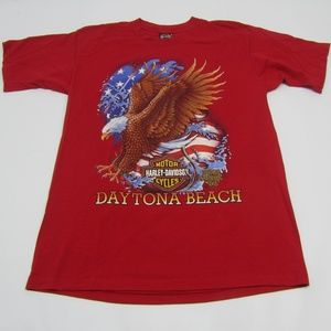 VTG 1996 Harley Davidson Daytona Bike Week T-Shirt
